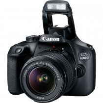 Canon EOS 4000D Gehäuse + EF-S 18-55mm III + Tasche
