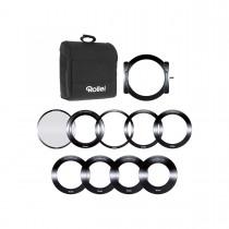 Rollei Profi Filter Halterung Set inkl. CPL für 100 mm