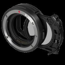 Canon  EF-EOS R mit Einsteckfilter (C-PL)  Bajonettadapter