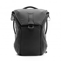 Peak Design Everyday Backpack 20L Jet Black Foto-Rucksack für DSLR- und DSLM-Kameras (schwarz)
