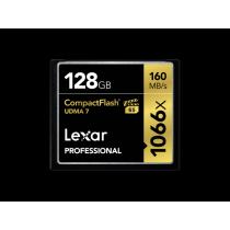 Lexar Compact Flash Card 128GB Professsional 1066x