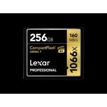 Lexar Compact Flash Card 256GB Professsional 1066x