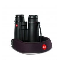 Leica Neopren Fernglasgurt schokoladenbraun