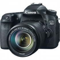 Canon - EOS 70D Kit inkl. EF-S 3,5-5,6 / 18-135 mm IS STM