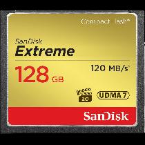 SanDisk Extreme CF128GB 120MB/s UDMA7