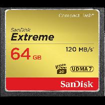 SanDisk Extreme CF 64GB 120MB/s UDMA7