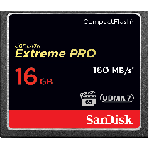 SanDisk Extreme Pro CF 16GB 160MB/s