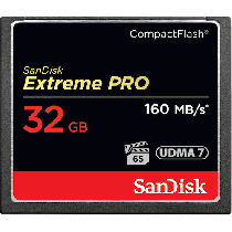 SanDisk Extreme Pro CF 32GB 160MB/s