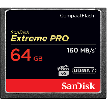 SanDisk Extreme Pro CF 64GB 160MB/s