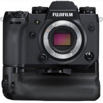 Fujifilm X-H1 + Handgriff VPB-XH1 + XF 40-150 /2,8