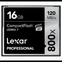 Lexar CF Card 16GB 800x Professional UDMA