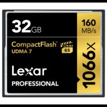 Lexar CF Card 32GB 1066x Professional UDMA7