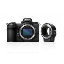 Nikon Z6 Body + FTZ Objektivadapter  inkl.Sony 64GB XQD-Karte beim Kauf der Nikon Z6! )