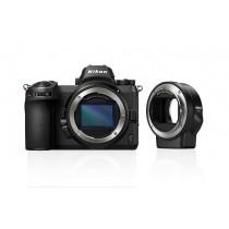 Nikon Z7 Body + FTZ Adapter  inkl.Sony 64GB XQD-Karte beim Kauf der Nikon Z7! )