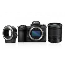 Nikon Z7 + Nikkor Z 24-70mm 4.0 + FTZ Adapter   inkl.Sony 64GB XQD-Karte beim Kauf der Nikon Z7! )