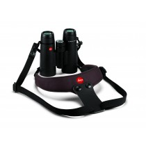 Leica Neopren Fernglasgurt Sport schokoladenbraun