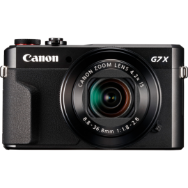 Canon PowerShot G7X Mark II schwarz Kit inkl. Original Ledertasche + 16 GB SDHC