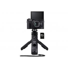 Canon PowerShot G7X Mark III Vlogger Kit schwarz, Digitalkamera+64GB SD-K.+Griff   - 40,00€ Sofort-Rabatt