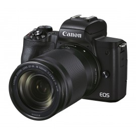 Canon EOS M50 II schwarz+EF-M 18-150 mm IS STM