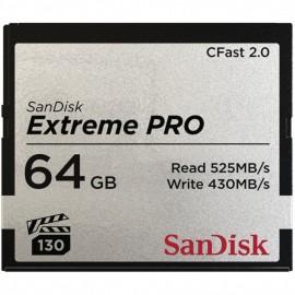 SanDisk CFast Extreme Pro 2.0 64GB VPG 130 525MB/s