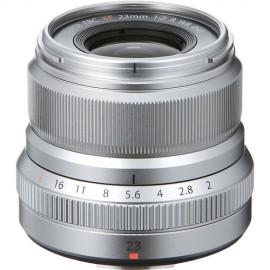 Fujifilm XF 23mm 1:2 R WR Silber