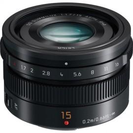 Panasonic 15mm 1:1,7 Leica Summilux ASPH Schwarz