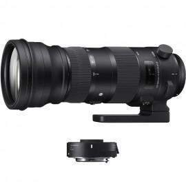 Sigma 150-600mm 1:5,0-6,3 S Kit + TC-1401 Nikon