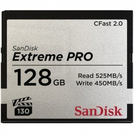 SanDisk CFast Extreme Pro 2.0 128GB VPG 130 525MB/Sec