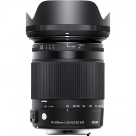Sigma 18-300mm 1:3,5-6,3 DC Makro OS HSM C Canon