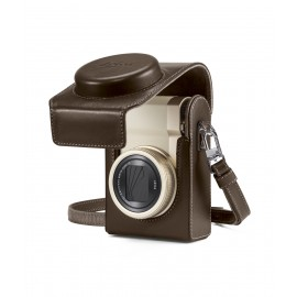 Leica - C-Lux light-gold  inkl.Tasche C-Lux, Leder, taupe