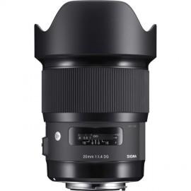 Sigma 20mm 1:1,4 DG HSM Art für Nikon