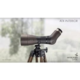 Swarovski -  ATX 25-60x85 Interior inkl. Holzstativ