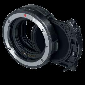 Canon  EF-EOS R mit Einsteckfilter (V-ND)  Bajonettadapter