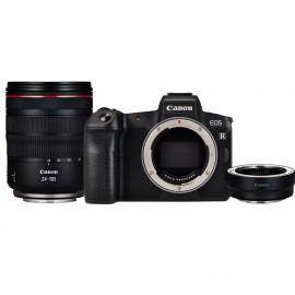 Canon EOS R Kit RF 24-105 L + Bajonettadapter EF-EOS R + CANON LP E 6 N ERSATZAKKU