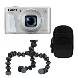 Canon PowerShot SX730 HS silber Travel Kit