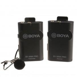 Boya 2.4 GHz Duo Lavalier Microfon Dradlos BY-WM4 Pro-K1