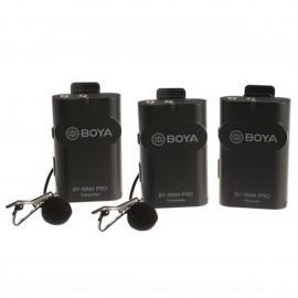Boya 2.4 GHz Duo Lavalier Microfon Dradlos BY-WM4 Pro-K2