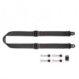 Peak Design Slide Lite Black - Kameragurt für Einsteiger-DSLRs und größere spiegellose Systemkameras