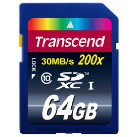 Transcend SDXC 64GB Class 10
