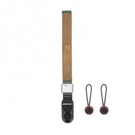 Peak Design Cuff Sage (Salbeigrün) Handschlaufe (Handgelenkschlaufe) - z.B. für DSLR-Kameras, Systemkameras oder Kompaktkameras