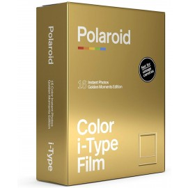 Polaroid Color film for i-Type – GoldenMoments Double Pack