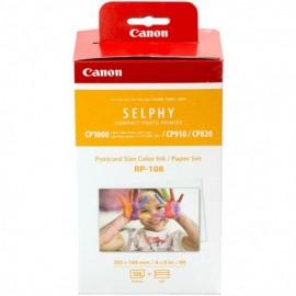 Canon RP-108 Papier + Farbband 10x15 108 Ausdrucke (2x 54 Bl.)