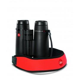 Leica Neopren Fernglasgurt signalrot