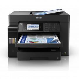 Epson EcoTank ET-16600 Tintenstrahl-Multifunktionsdrucker A3, A3+ Drucker, Scanner, Kopierer, Fax Tintentank-System, LAN, WLAN
