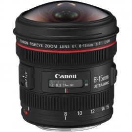 Canon EF 8-15mm 1:4,0 L Fisheye