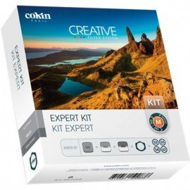 Cokin H3H3-21 Expert Kit inkl. Filterhalter, 4 Ringe ( P452, P455, P458, P462), 3 Filter (P121, P121M, P153)