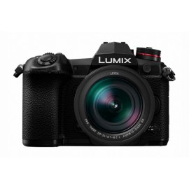 Panasonic LUMIX DC-G9L K IT + Kit + Leica 12-60mm/ 2.8-4.0 schwarz   inkl. SanDisk SD 128 GB Extrem Pro