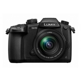 Panasonic LUMIX DC-GH5M Kit + 12-60mm/ 3.5-5.6  schwarz inkl. SanDisk Extreme Plus SDHC 32GB