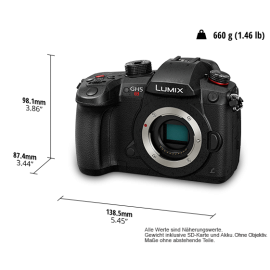 Panasonic LUMIX DC-GH5S Body schwarz