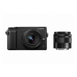 Panasonic LUMIX DMC-GX80W Kit + 12-32mm OIS + 35-100mm OIS inkl. SanDisk Extreme Plus SDHC 32GB